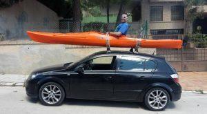 coche kayak