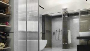 ducha doble