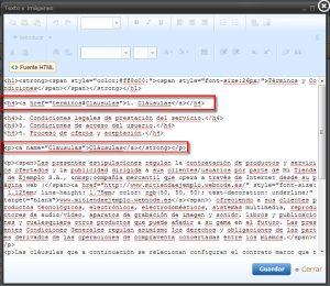 html anclas
