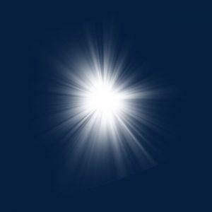 luz de flash