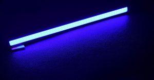 luz led azul