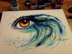 ojo pintado