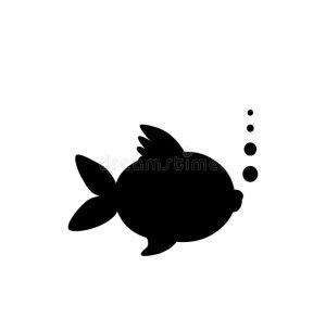 pez silueta