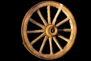 rueda madera