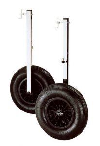ruedas botadura