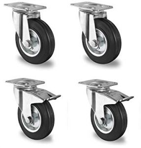 ruedas de goma