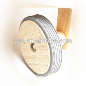 ruedas madera