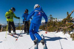 ski carving