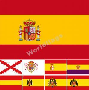 spain flags