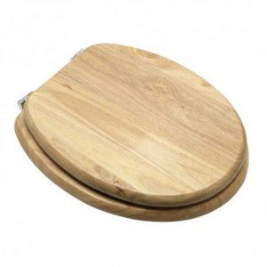 tapa wc madera