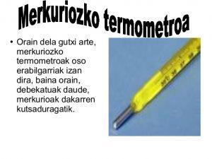 termometroa