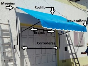 toldo enrollable