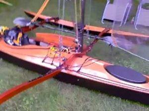 trimaran kayak