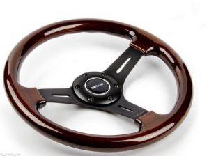 volante madera